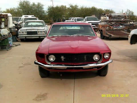 running 1969 Ford Mustang Coupe project for sale