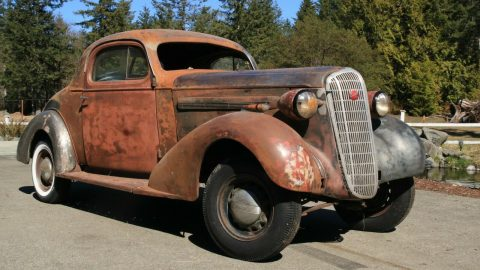 very solid 1936 Buick Series 40 Business Coupe Series 46 project for sale