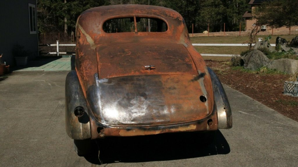 very solid 1936 Buick Series 40 Business Coupe Series 46 project