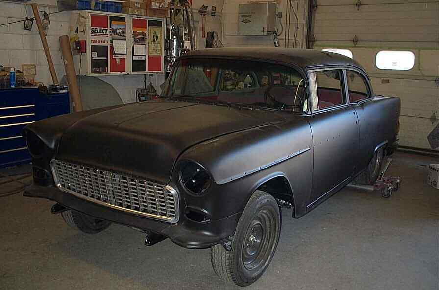 very solid 1955 Chevrolet Bel Air project