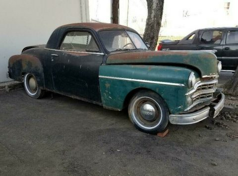 business coupe 1949 Dodge Wayfarer project for sale