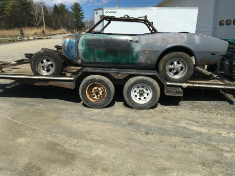 needs full restoration 1968 Chevrolet Camaro Project for sale