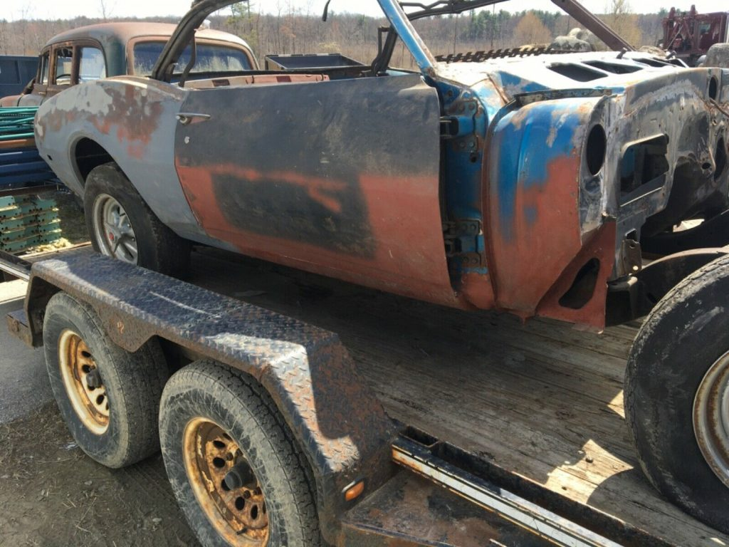 needs full restoration 1968 Chevrolet Camaro Project