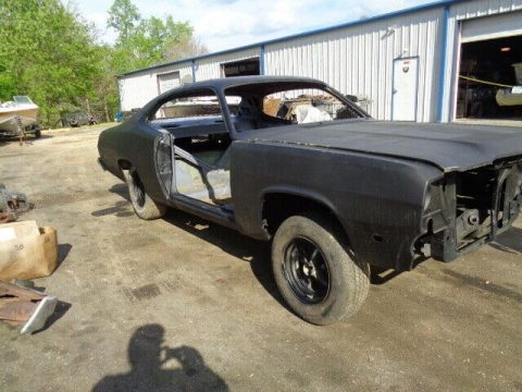 pretty solid 1974 Plymouth Duster 440 727 Torque flight project for sale