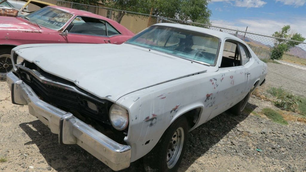 rust free 1974 Plymouth Duster Project