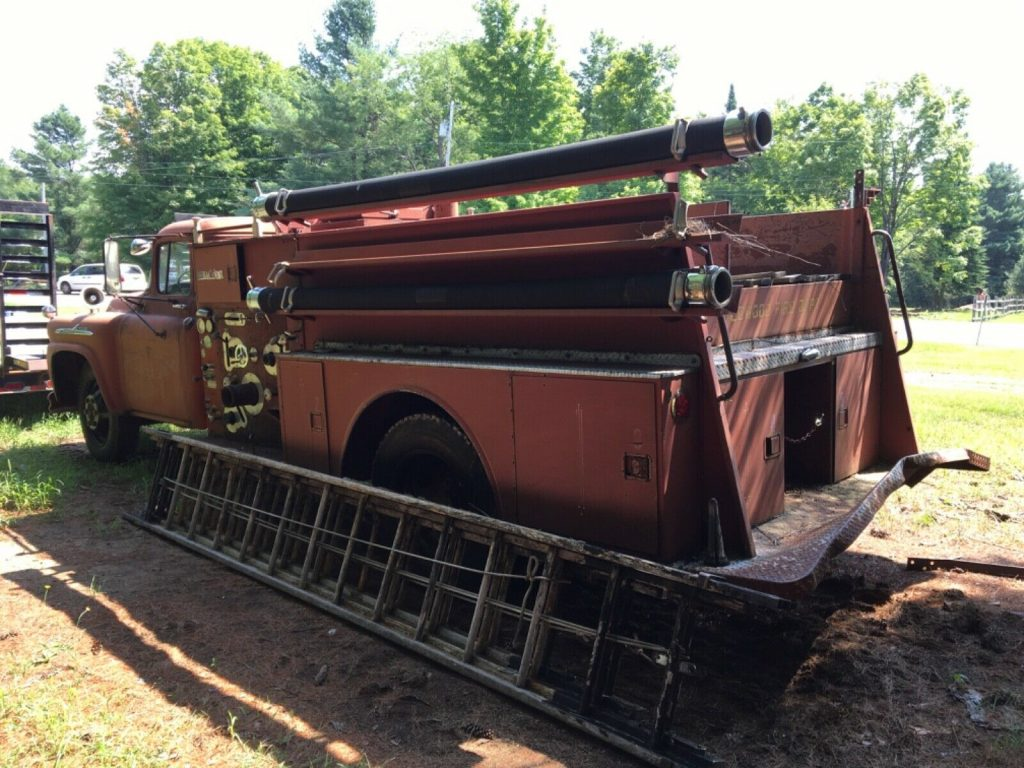 solid 1958 Chevrolet Viking 60 Fire Truck project