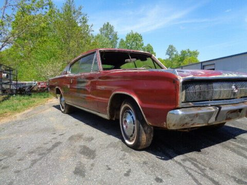 Solid 1967 Dodge Charger Project for sale