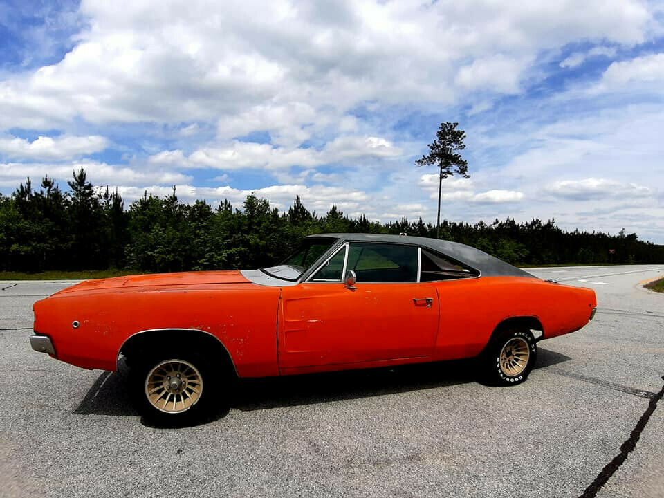 solid 1968 Dodge Charger project