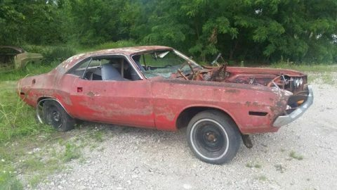 Solid Frame 1970 Dodge Challenger Project for sale