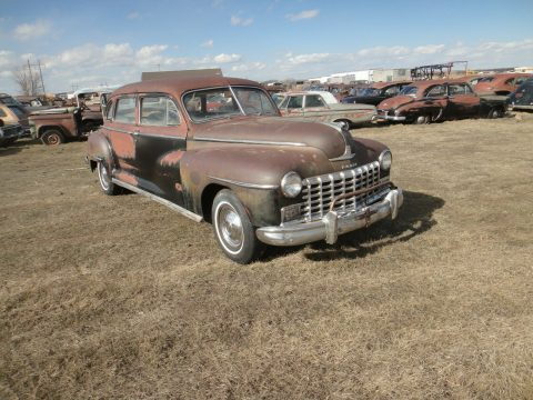 very solid 1948 Dodge Seven Passenger project for sale