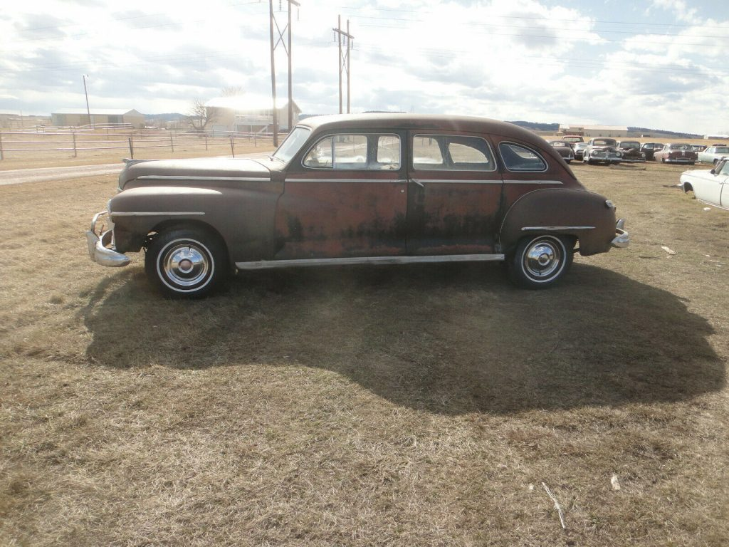 very solid 1948 Dodge Seven Passenger project