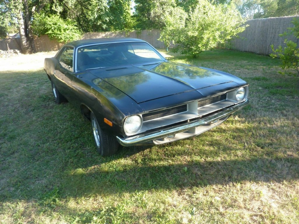 amazingly solid 1973 Plymouth Barracuda project