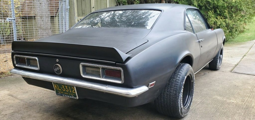 needs to be finished 1968 Chevrolet Camaro Ss/rs project