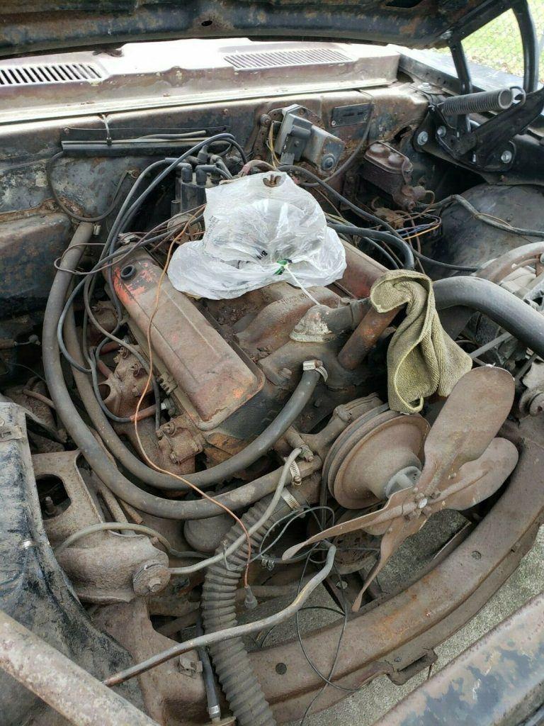 needs total restoration 1968 Chevrolet Camaro project