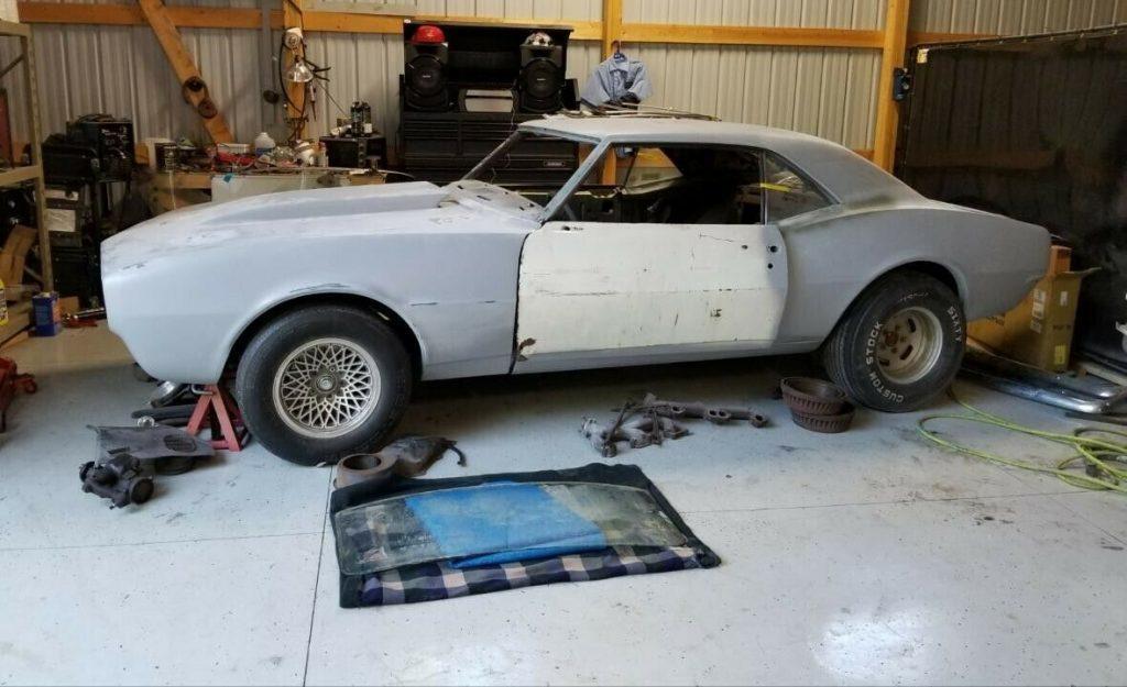 new parts 1968 Chevrolet Camaro project
