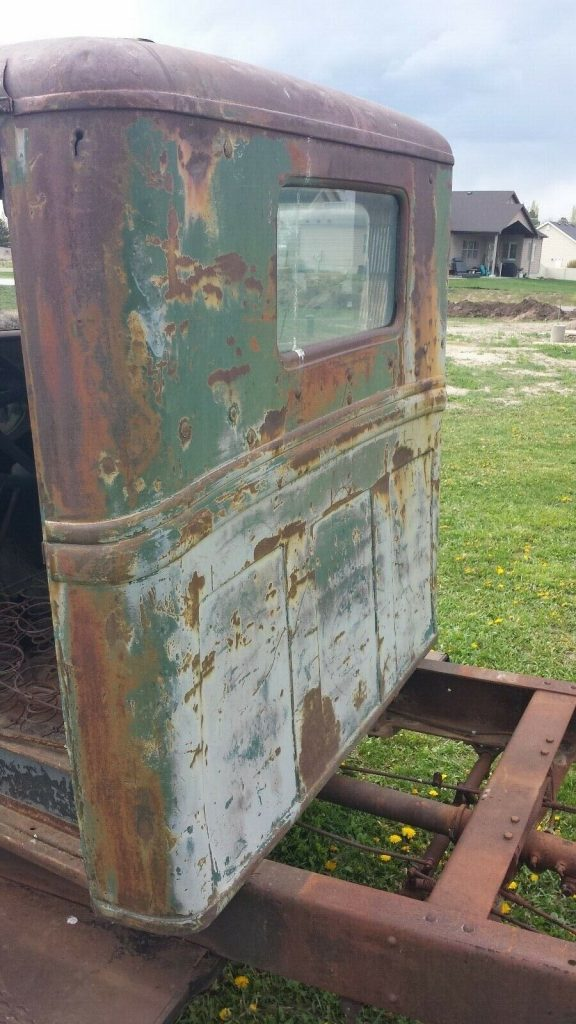 solid 1932 Ford BB truck project