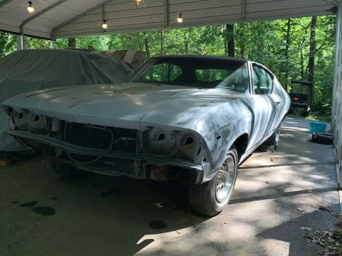 some work done 1969 Chevrolet Chevelle project for sale