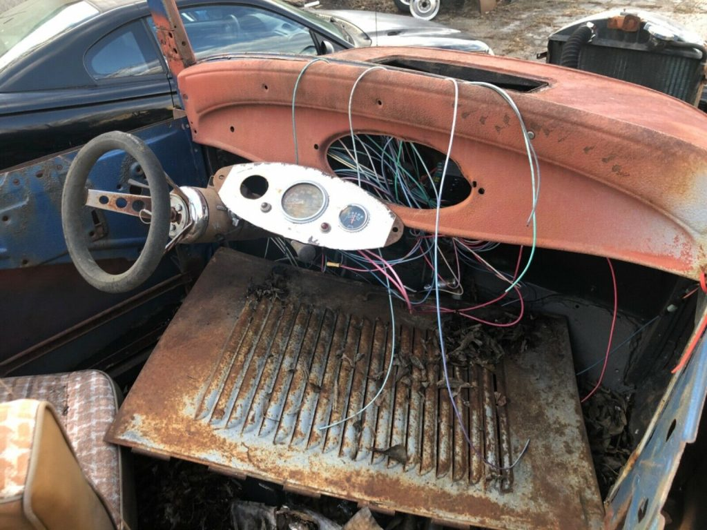 steel 1932 Ford Roadster hot rod project