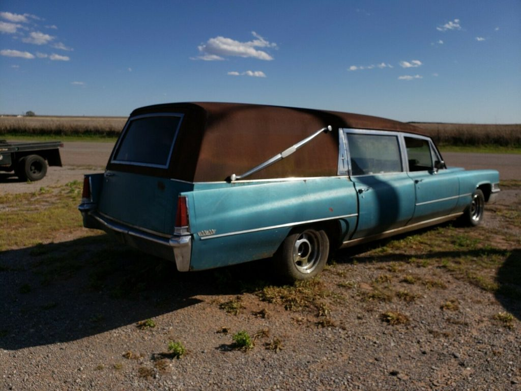 complete 1969 Cadillac Hearse project