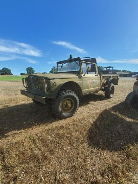 easy restoration 1967 Jeep military project for sale