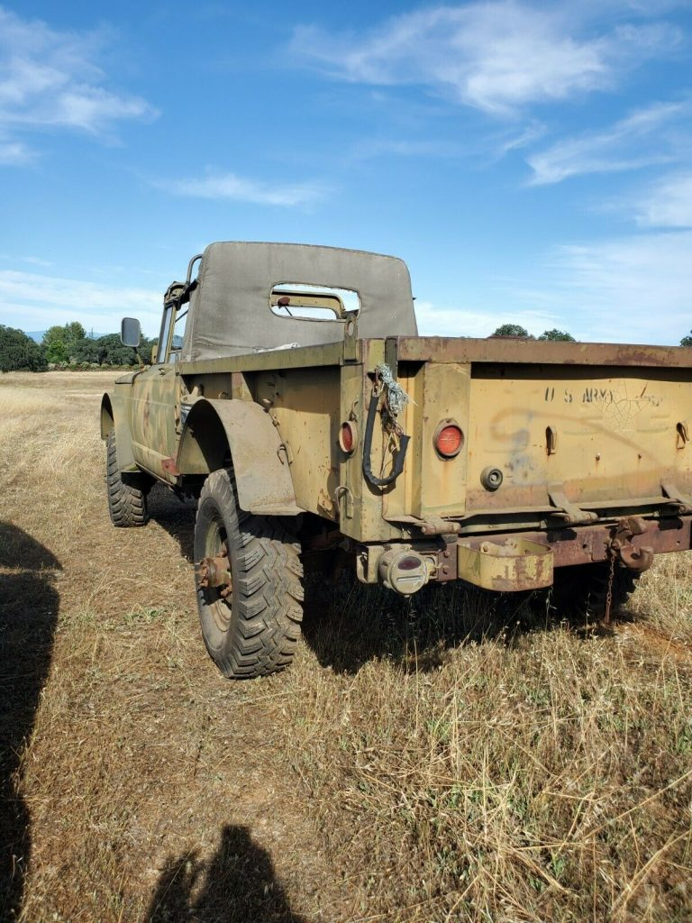 easy restoration 1967 Jeep military project