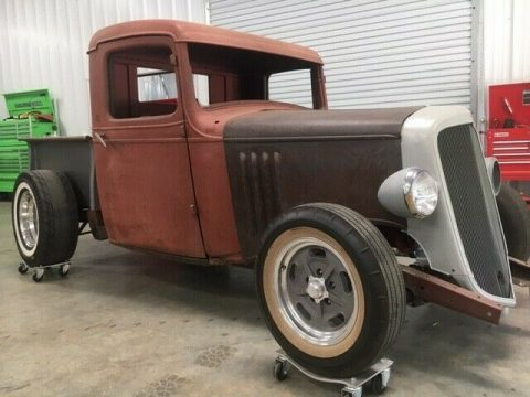 nicely modified 1935 Chevrolet Pickup custom project for sale