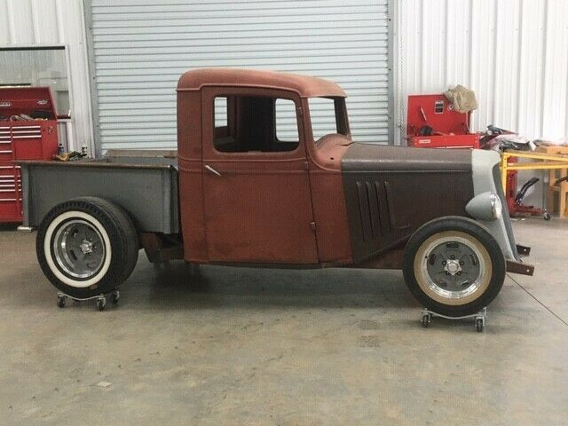 nicely modified 1935 Chevrolet Pickup custom project