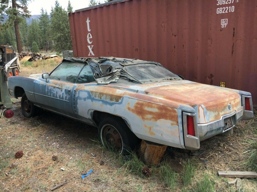 Non Running 1971 Cadillac Eldorado Convertible project