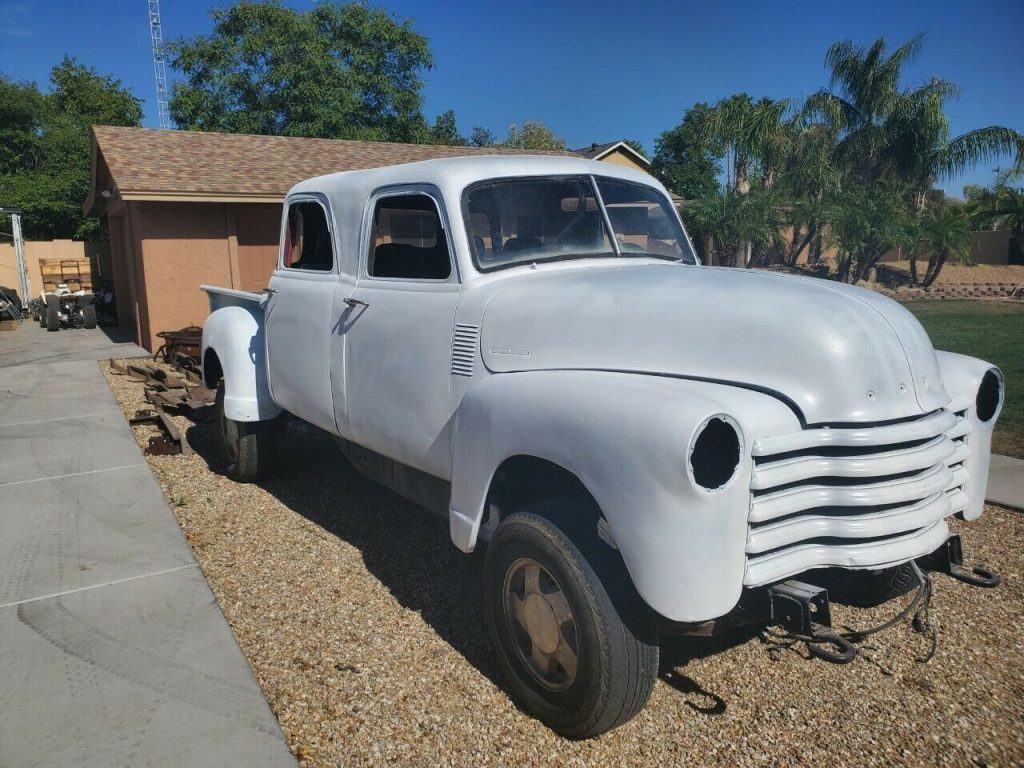 project 1951 Chevrolet Pickup custom