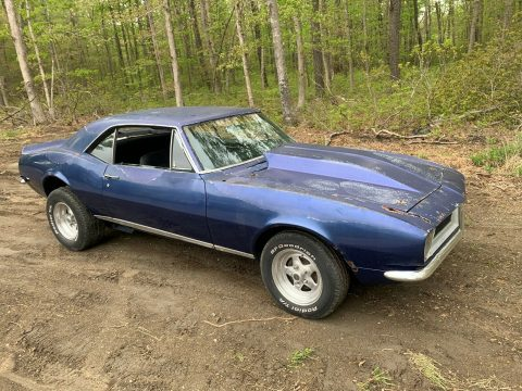 quite solid 1967 Chevrolet Camaro rs project for sale