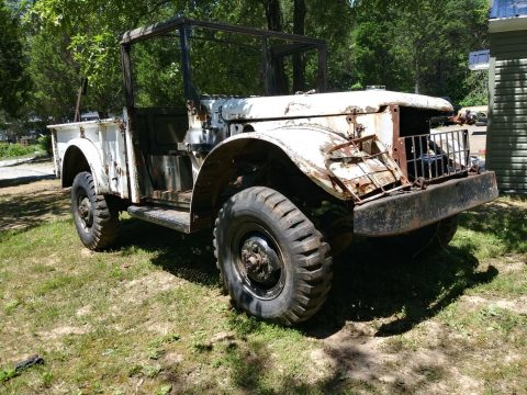 rare 1951 Dodge m37 Power wagon military project for sale