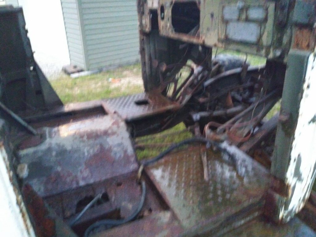 rare 1951 Dodge m37 Power wagon military project