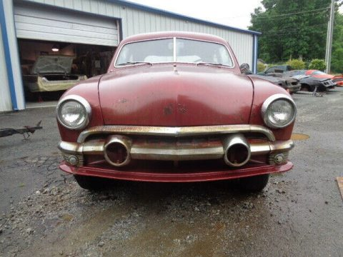 running 1951 Ford Deluxe project for sale