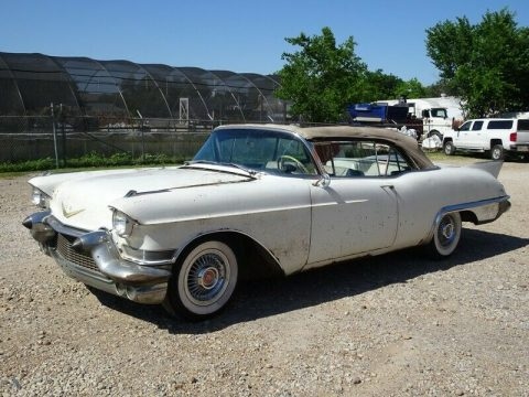 stored since 1966 project 1957 Cadillac Eldorado BIARRITZ convertible project for sale