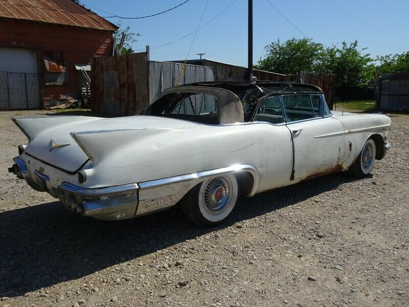 stored since 1966 project 1957 Cadillac Eldorado BIARRITZ convertible project