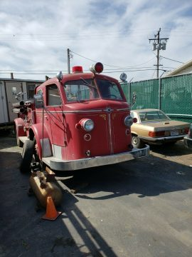 vintage 1949 Ford American La France FR project for sale