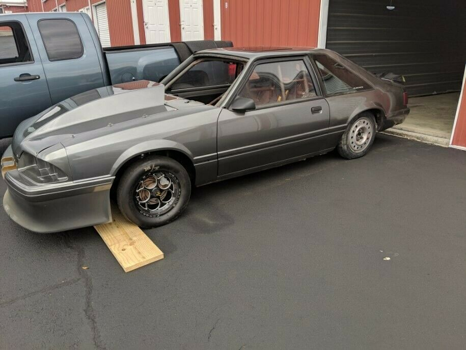 drag car 1988 Ford Mustang LX project