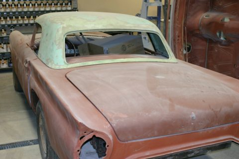 good body 1957 Ford Thunderbird Project for sale