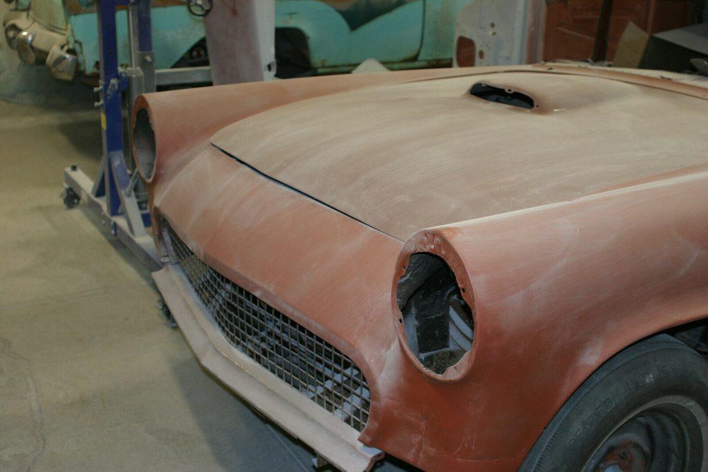 good body 1957 Ford Thunderbird Project