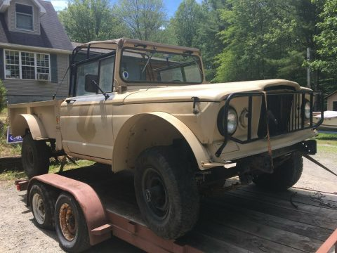 military 1967 Kaiser jeep 1 1/4 ton M715 project for sale