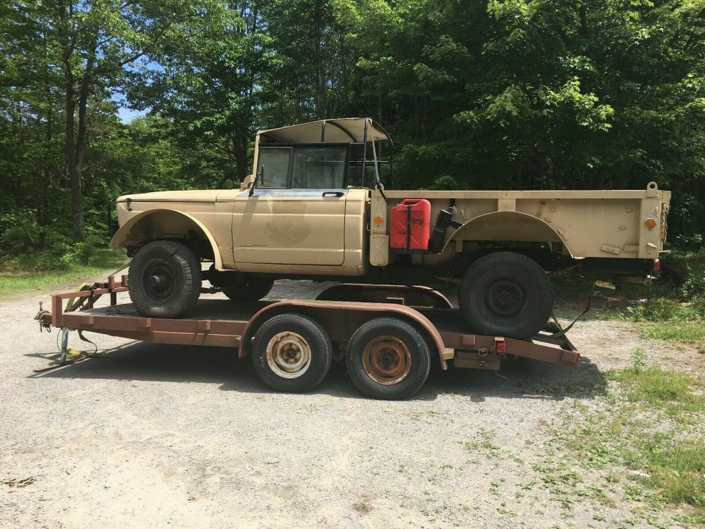 military 1967 Kaiser jeep 1 1/4 ton M715 project
