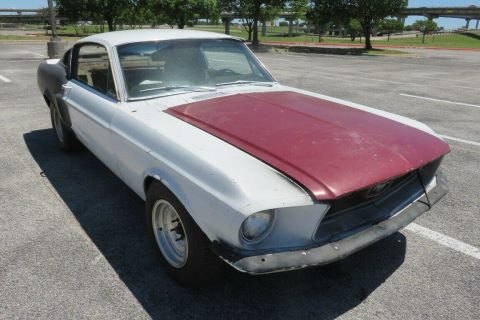 needs complete restoration 1968 Ford Mustang GT project for sale