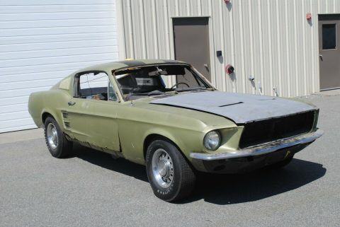 needs total restoration 1967 Ford Mustang Project for sale