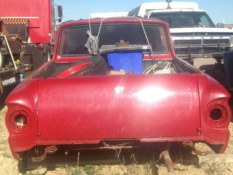 newer engine 1962 Ford Ranchero Project