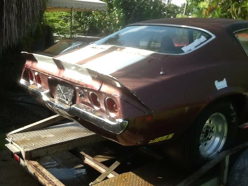 no engine 1971 Chevrolet Camaro project