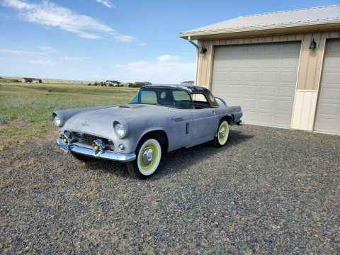 partly restored 1956 Ford Thunderbird Project for sale