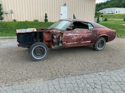 solid 1970 Ford Mustang Shelby GT500 project for sale