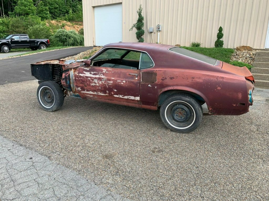 solid 1970 Ford Mustang Shelby GT500 project