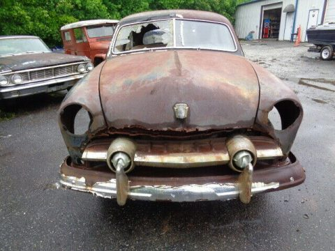 solid frame 1951 Ford Deluxe project for sale