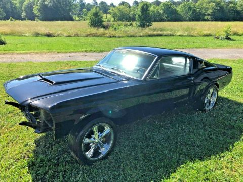 super solid 1968 Ford Mustang Fastback 428 project for sale